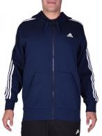 Adidas Performance pulóver - ADIDAS PERFORMANCE ESS 3S FZ B