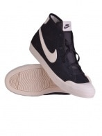 Nike Cipő - NIKE WMNS NIKE DUO COURT MID LTHR