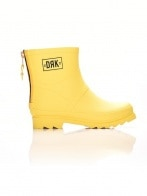 Dorko csizma - DORKO YELLOW COLOR ANKLE BOOT WITH ZIPPER