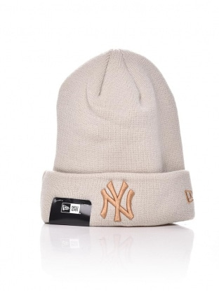 LEAGUE ESSENTIAL CUFF KNIT NY YANKEES
