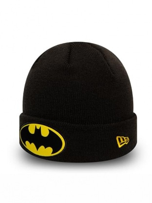 KIDS CHARACTER CUFF KNIT BATMAN