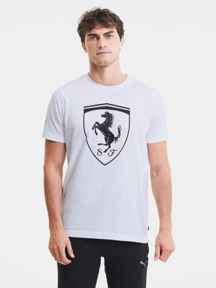 Ferrari Race Big Shield Tee c