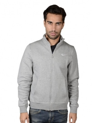 Nike pulover - NIKE NIKE CLUB TRACK JACKET-SWOOSH