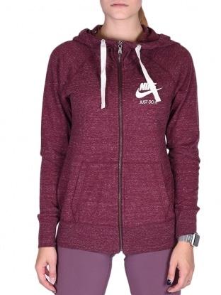 Nike pulover - NIKE W NSW GYM VNTG HOODIE FZ