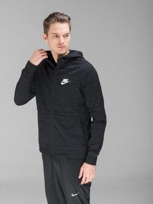 Nike pulover - NIKE M NSW AV15 HOODIE FZ KNIT