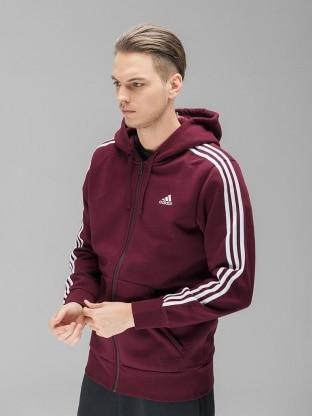 Adidas Performance pulover - ADIDAS PERFORMANCE ESS 3S FZ B