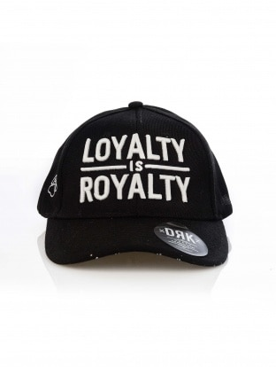 DRK x LOYALTY IS ROYALTY BASEBALL CAP