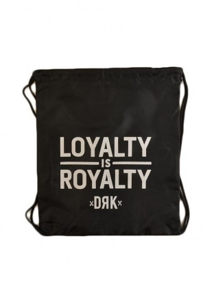 DRK x LOYALTY IS ROYALTY GYMBAG