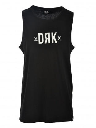 DRK LOGO MEN VEST BLACK