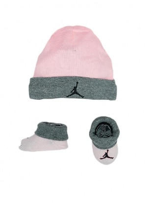 JORDAN HAT BOOTIE SET